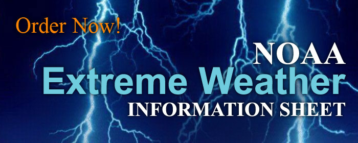 NOAA Extreme Weather Information Sheets