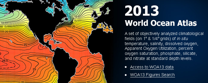World Ocean Atlas 2013