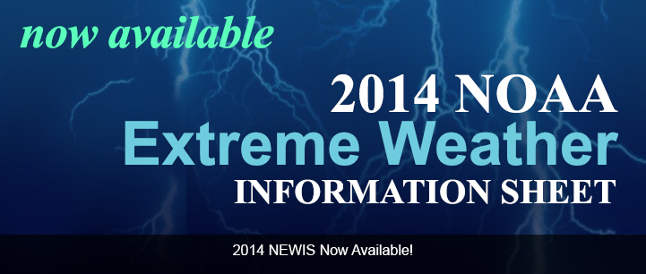 2014 NOAA Extreme Weather Information Sheets