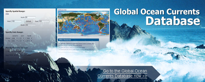 Global Ocean Currents Database