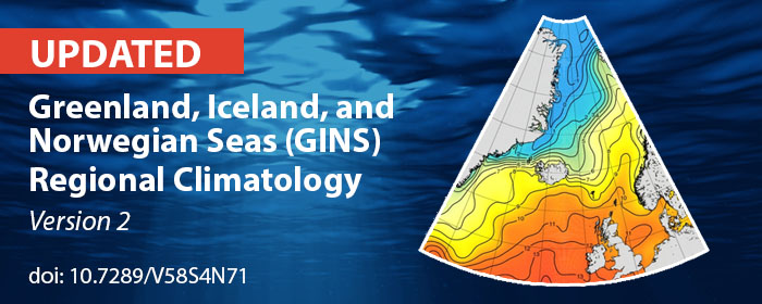 GIN Seas Regional Climatology version 2