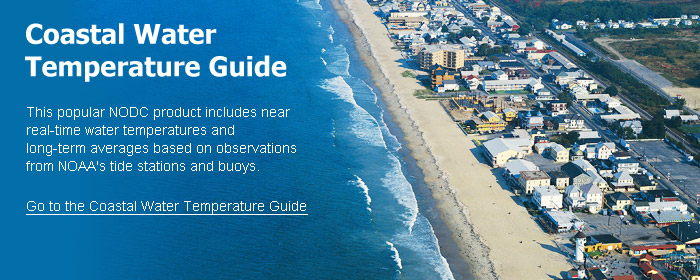 Coastal Water Temperature Guide