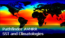 Pathfinder AVHRR SST and Climatologies
